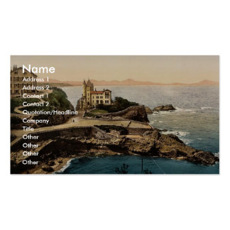 Villa Belsa, Biarritz, Pyrenees, France classic Ph Double-Sided Standard Business Cards (Pack Of 100)
