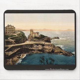 Villa Belsa, Biarritz, Pyrenees, France classic Ph Mouse Pad