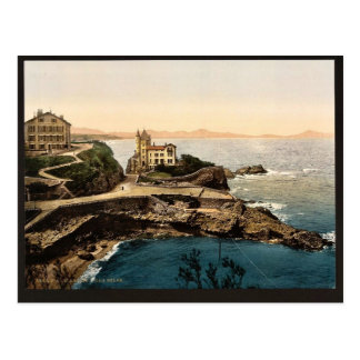Villa Belsa, Biarritz, Pyrenees, France classic Ph Postcard