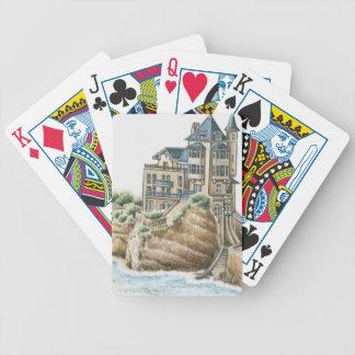 Villa Belza, Biarritz, France Bicycle Playing Cards
