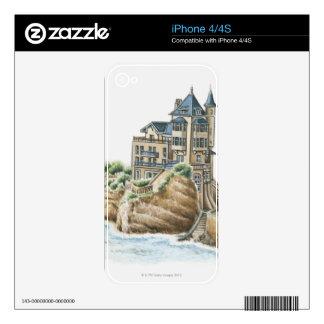 Villa Belza, Biarritz, France iPhone 4 Skin