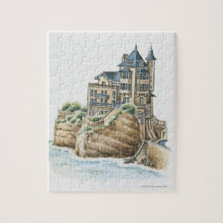 Villa Belza, Biarritz, France Jigsaw Puzzle