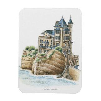 Villa Belza, Biarritz, France Rectangular Photo Magnet