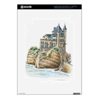 Villa Belza, Biarritz, France Skins For iPad 3