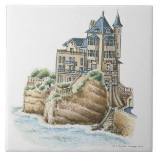 Villa Belza, Biarritz, France Tile