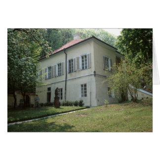 Villa Bertramka-Mozart-Prague Card
