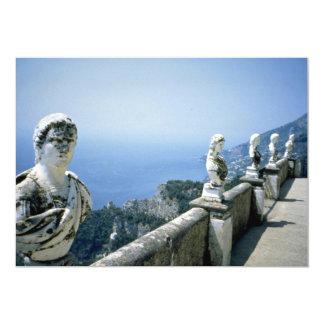 Villa Cimbrone, Ravello, Italy 5x7 Paper Invitation Card