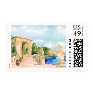 Villa Cimbrone Wedding Stamp