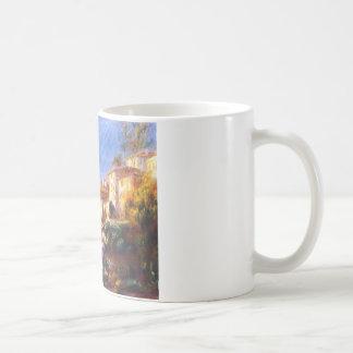 Villa de la poste at cagnes Pierre-Auguste Renoir Coffee Mug