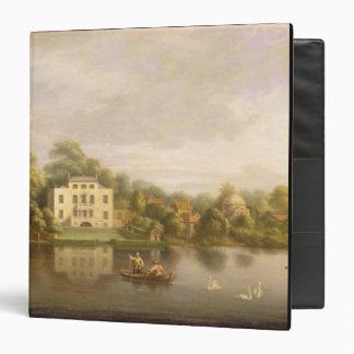 "Villa de papa, Twickenham, c.1765 (aceite en lona) Carpeta 1 1/2"""
