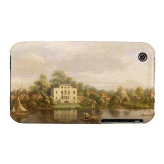 Villa de papa, Twickenham, c.1765 (aceite en lona) Funda Para iPhone 3 De Case-Mate