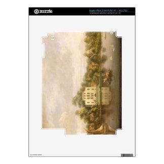 Villa de papa, Twickenham, c.1765 (aceite en lona) Pegatinas Skins Para iPad 3