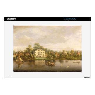 Villa de papa, Twickenham, c.1765 (aceite en lona) Skins Para 38,1cm Portátiles