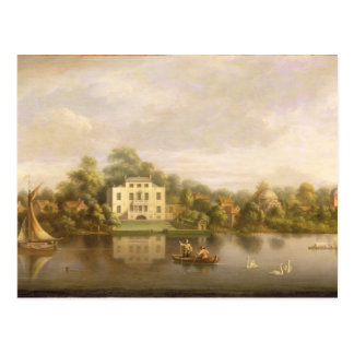 Villa de papa, Twickenham, c.1765 (aceite en lona) Tarjetas Postales