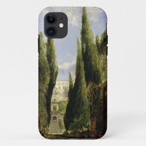 Villa D'Este, Tivoli (oil on canvas) Phone Case