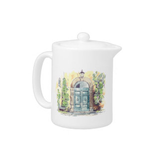 Villa Door Teapot