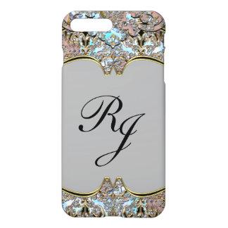 Villa Dove Baroque French Monogram plus iPhone 7 Plus Case