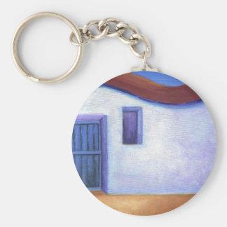 Villa Expressionist Modern Art Custom Key Chain