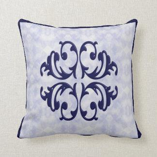 Villa  Flourish Accent Design Pillow