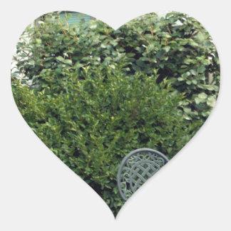 Villa Heart Sticker