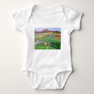 Villa in the Hill Baby Bodysuit