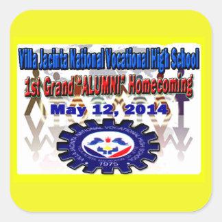 Villa Jacinta 2014 Reunion Stickers