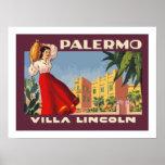 Villa Lincoln (Palermo) Posters