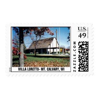 VILLA LORETTO- MT. CALVARY, WI STAMP
