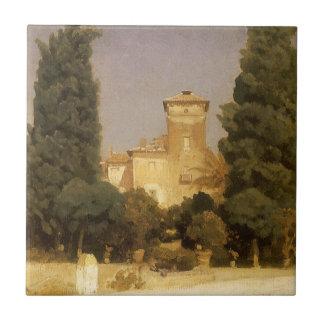 Villa Malta, Rome by Lord Leighton Ceramic Tile