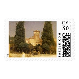 Villa Malta, Rome by Lord Leighton Postage
