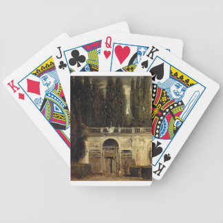 Villa Medici in Rome by Diego Velazquez Bicycle Playing Cards
