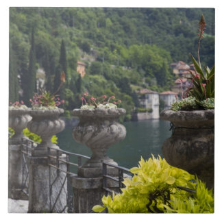Villa Monastero, gardens and lakefront, Varenna, Ceramic Tile