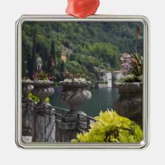 Villa Monastero gardens and lakefront Varenna Christmas Tree Ornaments