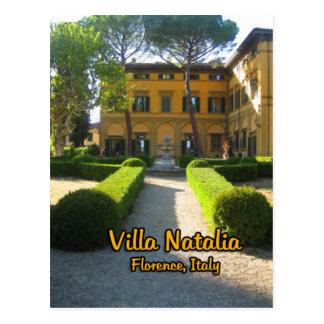 Villa Natalia Florence Italy Postcard