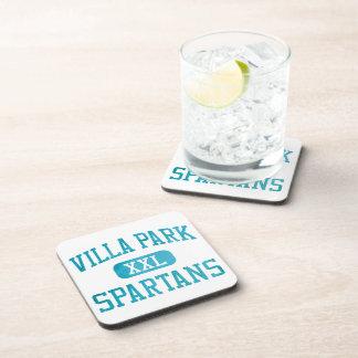 Villa Park Spartans Athletics Beverage Coaster