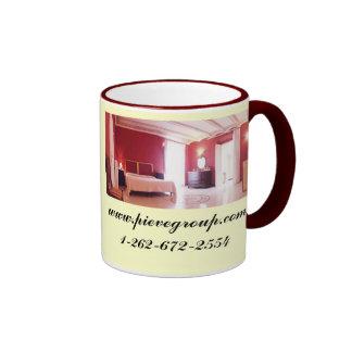 Villa Pieve Corciano - I was here Ringer Coffee Mug
