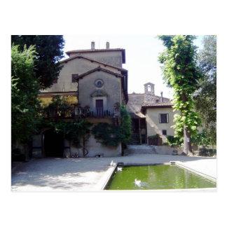 Villa Rucellai Postcard