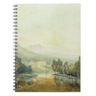Villa Salviati on the Arno, c.1796-97 (w/c on penc Spiral Notebook