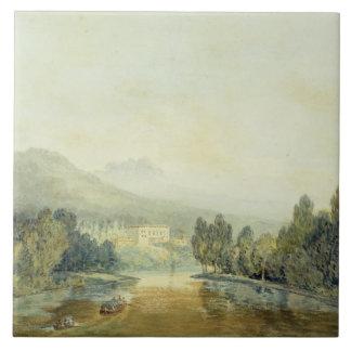 Villa Salviati on the Arno, c.1796-97 (w/c on penc Tile