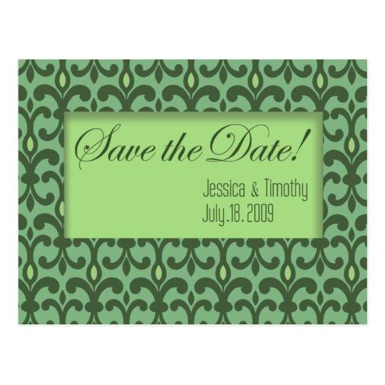 Villa - Save the Date Card (custom design: Willow)