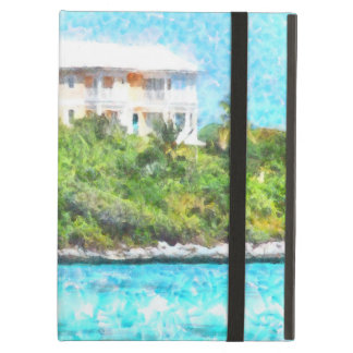 Villa set in greenery in the Bahamas Case For iPad Air