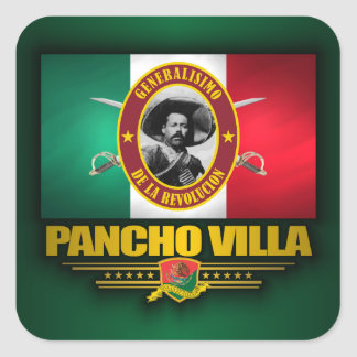 Villa Square Sticker