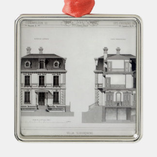 Villa Suburbaine, Premier Chasse at St. Cloud Metal Ornament