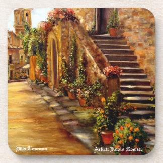 Villa Toscana Beverage Coaster