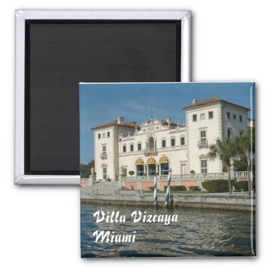 Villa Vizcaya Magnet