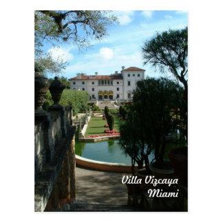 Villa Vizcaya Post Cards