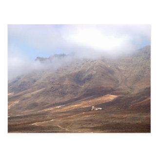 Villa Winter in Cofete. Fuerteventura. Postcard