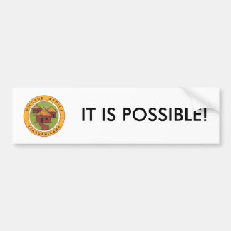 Village Africa It is Possible Bumper Sticker