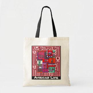 Village - Aftrican Art Tote Bag