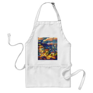 Village by the Sea Aprons